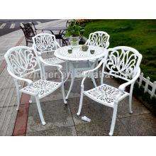meubles en métal faits sur commande, chaise de loisirs, meubles de jardin de moulage