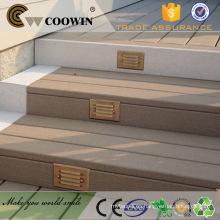 Madera al aire libre tablones de madera de la fascia de la venta del wpc caliente