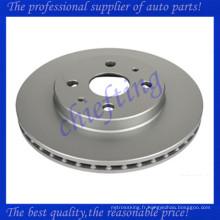 MDC2286 43512-B1030 DF6407 43512-B1031 0986479685 pour rotor de disque de frein de voiture daihatsu