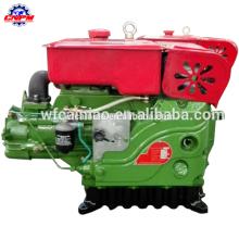 Motor diésel S1105 de un solo cilindro refrigerado por agua