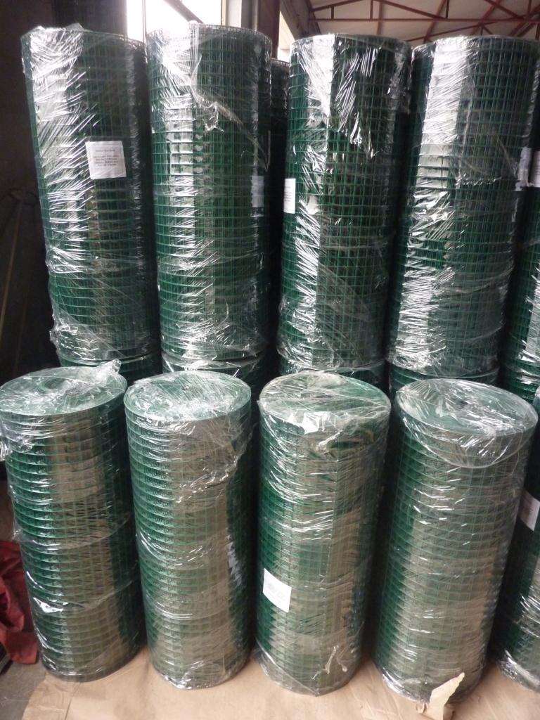 China PVC / Vinyl beschichtete geschweißte Drahtgitter Hersteller