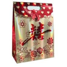 Bolsa de regalo de papel para embalaje y promoción de regalos