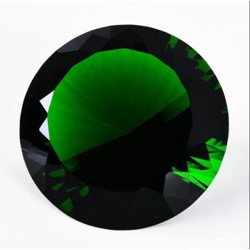 Wedding Decoration Gift 100mm Green Crystal Diamond