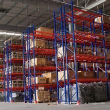 Rack e prateleira de armazenamento de paletes pesados de metal
