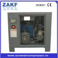 Energy saving stationary screw compressor machine electric air compressor belt