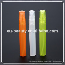 Fancy Empty Plastic Atomizer Spray Perfume Bottle And Round Shaped