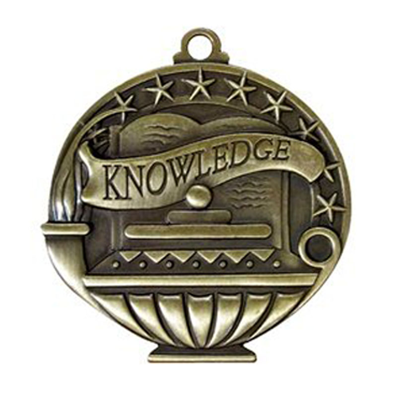 Engraved Knowledge Medals
