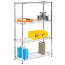 NSF ajustável leve dever fio metálico rack de armazenamento de ferramentas