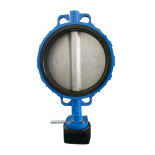 Manueller Operator Wafer Typ Resilient Butterfly Valve
