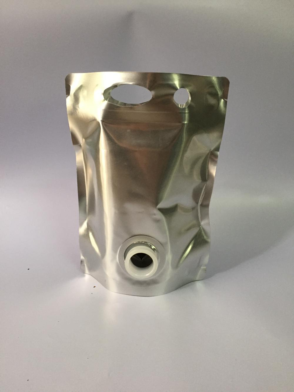 Aluminium Foil Stand Up Pouches With Spout