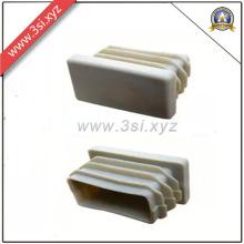 Tomadas de buraco de tubo de borracha de retângulo preto (YZF-H141)