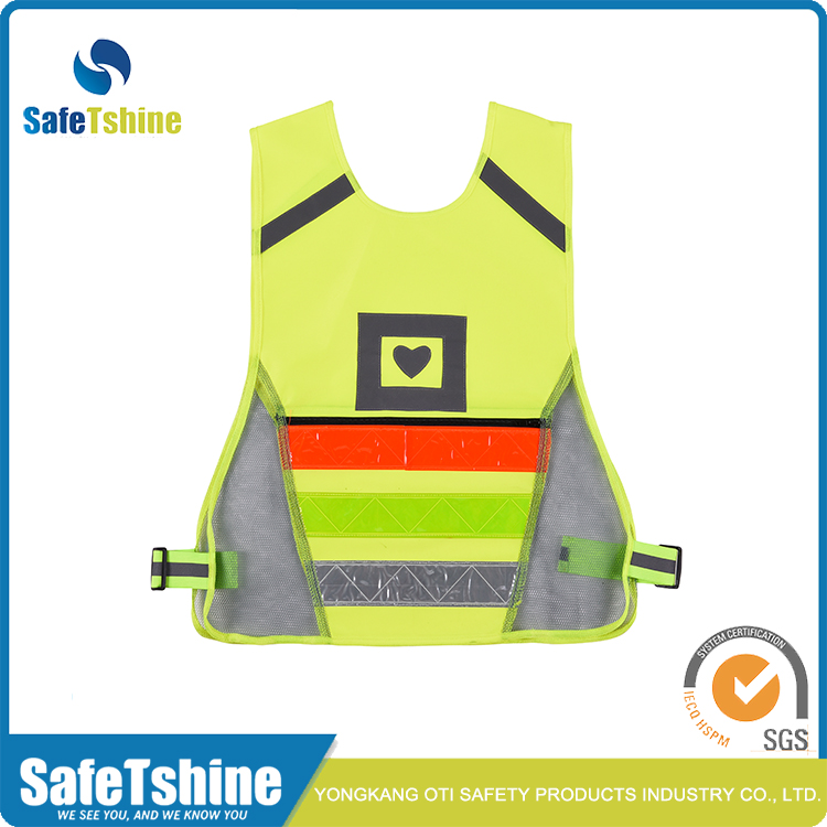 new style reflective vest with heat transfer
