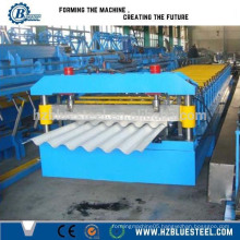 Good Quality Low Price PLC With Touch Screen And Button High Speed Full Automatic Corrugated Glazed Steel Roll Forming Machine