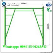 Marchez à travers l'échafaudage de cadre avec l'échafaudage de serrure de secousse / échafaudage de cadre