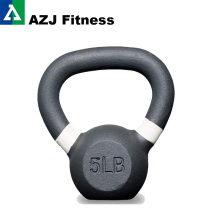 5LB Powder Coated Kettlebell