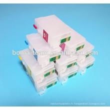 T7607 T7603 T7604 T7604 T7606 T7607 T7608 T7609 cartouche d'encre de recharge RIC pour imprimante Epson SC-P600