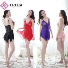 Best Quality for Transparent Lingerie Dress Holiday Romantic Lingerie Babydoll supply to Indonesia Manufacturers