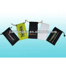 designer microfiber cell phone pouch