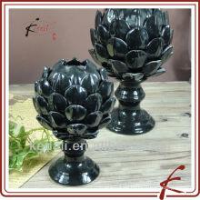 Schwarzes Entwurfs-Großverkauf-keramisches Porzellan-Ausgangsdekor