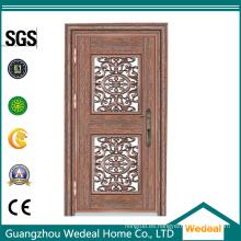 Entrada / Puerta exterior de acero inoxidable para viviendas