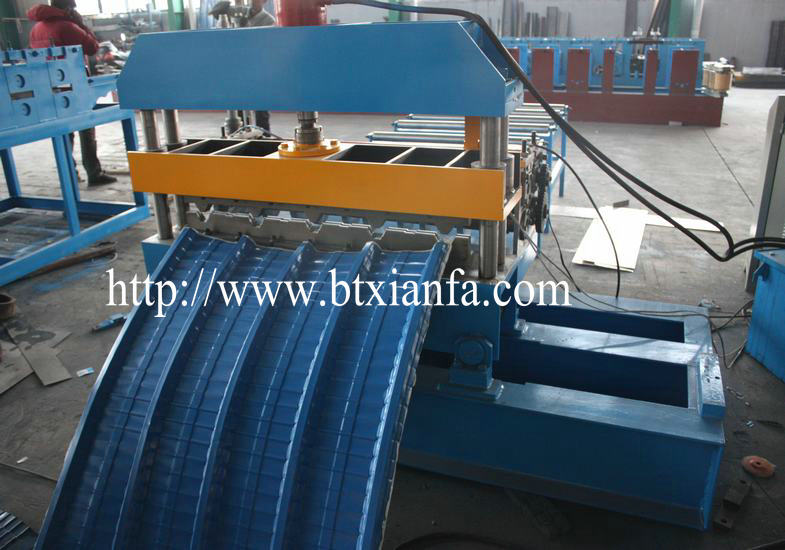 Arch roof roll forming machine 2