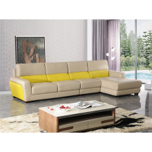 Moderno sofá de ocio de cuero de Italia