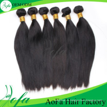 Бразильского Виргинские волос 22inch 100% человеческих волос девственницы