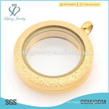 Joyería del locket del diamante de la manera, diseños del locket del oro con precio en Paquistán, suministra los lockets