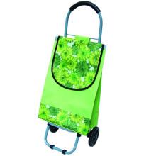sac à roulettes pliable pour courses de légumes