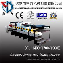 Machine à papier servo-découpage