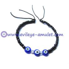 Blue Evil Eye Mystic Cuff Bracelet Wholesale