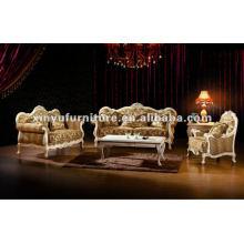 Salão de madeira conjuntos de sofá de madeira A80860