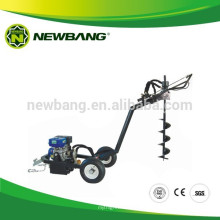 Gasoline post hole digger with CE approved