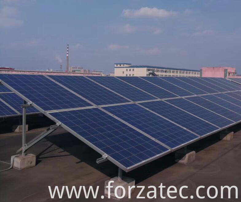 PV Power Plant with poly panel