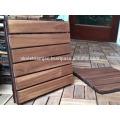 Wooden Floor for Outdoor Furniture/Interlocking DIY deck Tile New Design 2017