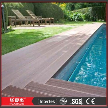 Swimming Pool Decks WPC Decking Composite Deck Boards