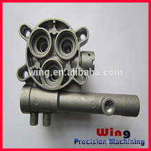 customized zinc die casting products with sand blasting
