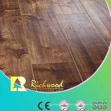 Commercial 8.3mm HDF Embossed Oak V-Grooved Waterproof Laminate Floor