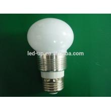 China fabricación de iluminación bombillas led lámpara 3W E27 100V-240V AC con alto lumen