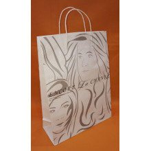 shopping bag di carta da stampa