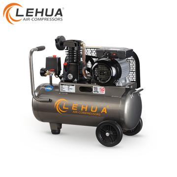 Горячая Продажа 30л 1 л. с. с ременным приводом одиночный компрессор воздуха цилиндра