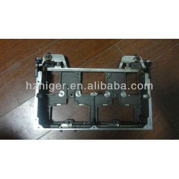 pieza de máquina de la máquina de coser de la máquina de coser de aluminio equipo de la armadura de la gravedad