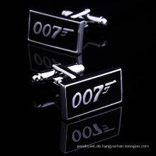 VAGULA hochwertige 007 Film Manschettenknöpfe (HL10172)
