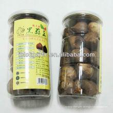 Orgânico único cravo alho preto 250g / garrafa