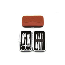 Traveling Manicure Set with PU Leather Case