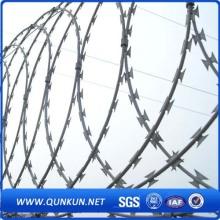 Galvanized Bto-22 Razor Barbed Wire for Farme Using