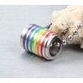 Supplies Round Stainless Steel Pendant Necklace For Gay