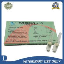 Medicamentos Veterinarios de Benzoato de Estradiol Inyectable (4mg / 2ml)