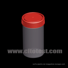 250 ml Kunststoffprobenbehälter mit Graduierung