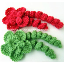 Tejer a mano Crochet Curls Crafts Flowers Pigtail Braid Fabricante de fábrica